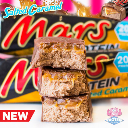 ...as if Hi-Protein Mars Bars weren't irresistible enough already! Salted Caramel in the Mix now!