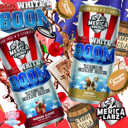 'Merica Energy is back with a BOOM this Christmas! 'Victory' and 'Merican Classic' in the Mix now