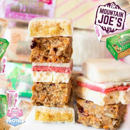 MOUNTAIN'S of choice in Mountain Joe's growing snack range!