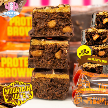 Joe's gone NUTS with his latest protein brownie!