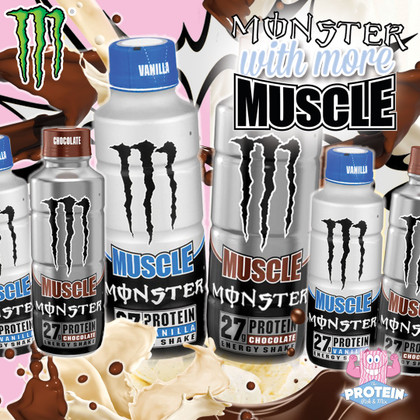 Vanilla & Chocolate Protein Muscle Monsters are back in the Mix!