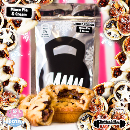 Limited Edition Mince Pie & Cream My Muscle Mug now available!
