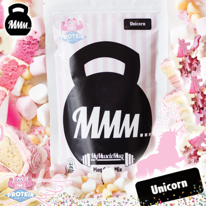 MyMuscleMug x Pick & Mix collab on NEW limited edition Unicorn flavour!