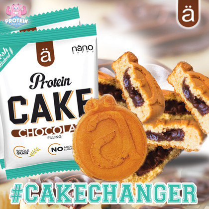Nano-way were Protein Pancakes enough from Ä Nano!! Chocolate-filled Protein *Cakes* are available now!