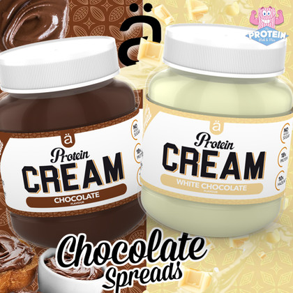 Nano gets an 'Ä+' for these low sugar, Chocolate Hazelnut Protein Cream Spreads!