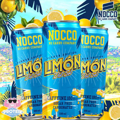 Un NOCCO, por favor! Mediterranean inspired Limón Del Sol is NOCCO's latest limited edition
