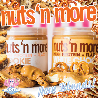 New White Choc Pretzel AND Cookie Dough Nuts 'n More flavours have landed!