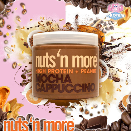 Nuts 'n...MOCHA!! Meet Nuts 'n More's Coffee-house inspired Mocha Cappuccino!