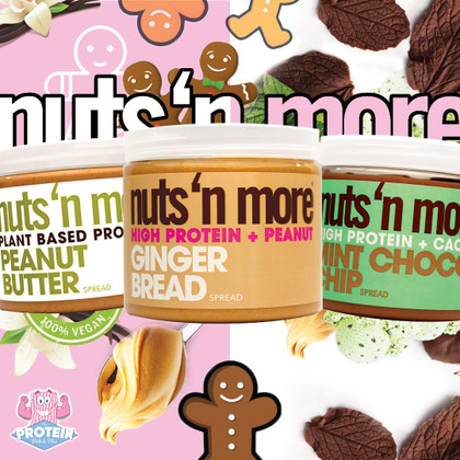 Yet MORE Nuts 'n More! Gingerbread, Mint Choc and something for the Vegans!!