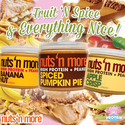 NEW Nuts 'n More Limited Edition Fall flavours now available!