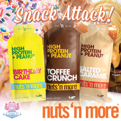 Nuts 'n More Peanut Butter.. now in Snack Packs!