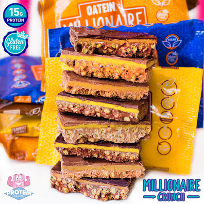 Enjoy a little slice of paradise that won't set you back a 'Million'! Oatein introduce Millionaire Crunch bars