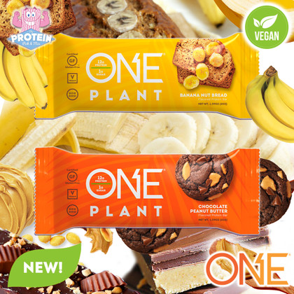 Now Vegan too?! With the arrival of ONE Plant Bars, there really is ONE Bar to rule them all!!