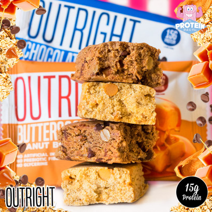 Not one but *TWO* OUTRIGHT tasty new flavours for Marc Lobliner's OUTRIGHT bars!