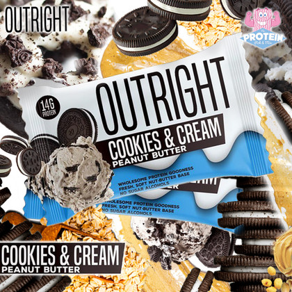 Chunky and Crunchy, Cookies & Cream OUTRIGHT now available!