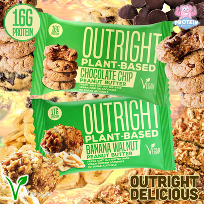OUTRIGHT Delicious just got OUTRIGHT Vegan! Marc Lobliner's Plant-based Outright bars hit the UK