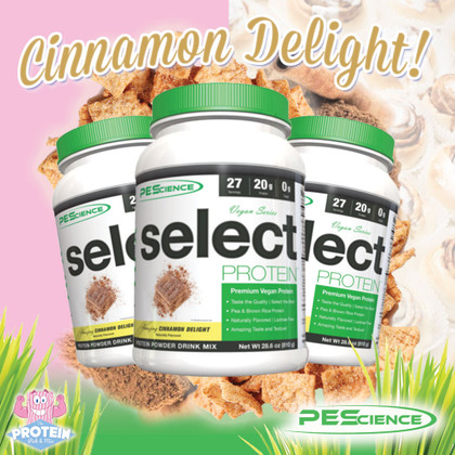 Love cinnamon? Dodging dairy? Latest PEScience Select Vegan Cinnamon Delight flavour, now available!