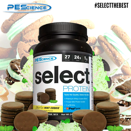 Protein Amaze-MINT! PEScience SELECT Chocolate Mint Cookie joins the bestselling shake range