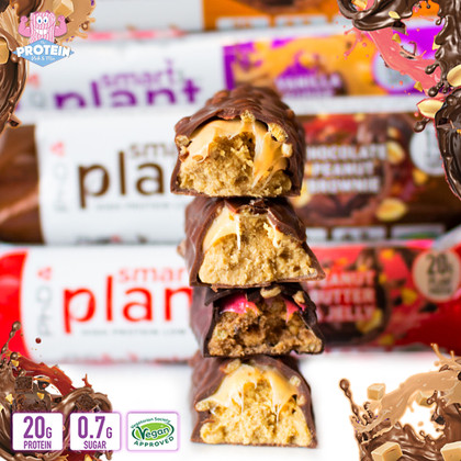 Get even MORE 'pumped for plant'! PhD's New & Improved plant-based bars are here!