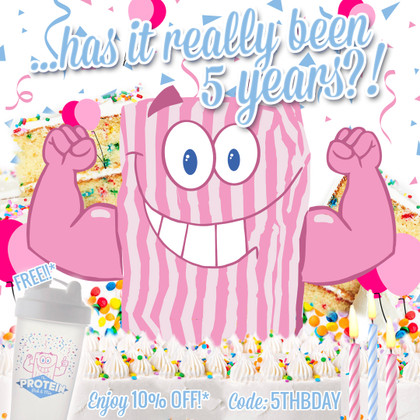 ...has it really been 5 years?! It's The Protein Pick and Mix's Birthday...celebrate with us!