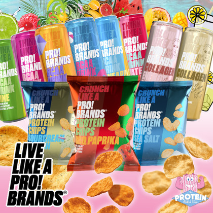 Live like a Pro!Brands!! Enjoy Colourful and Crazy new Chips & Energy Drinks in the Mix