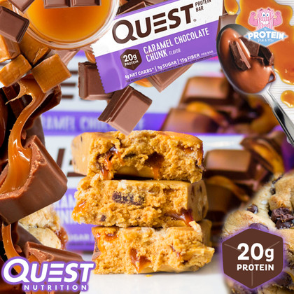 QUEST...completed!! That 'Holy Grail' flavour, Chocolate / Caramel, has arrived!