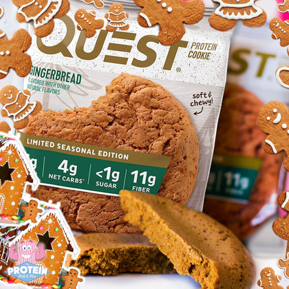 Run as fast as you can and catch the Limited Edition Gingerbread Quest Cookie!