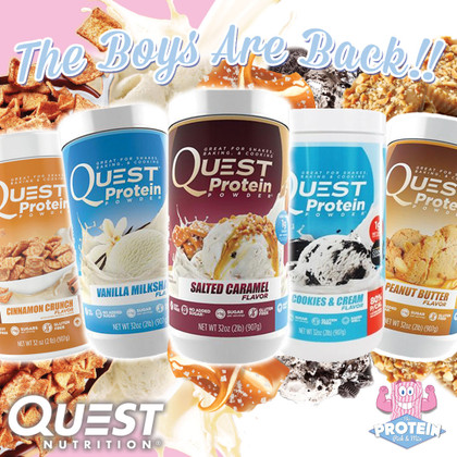 Quest Protein Returns to the Mix!