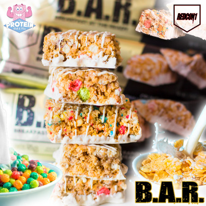 Attennnnshun! RedCon1 'Raise the B.A.R.' in their crispy, crunchy Cereal Bars!