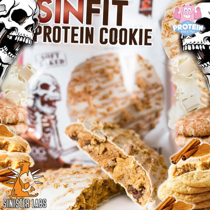 The SIN-sational Spiced Snickerdoodle Cookie from Sinister Labs