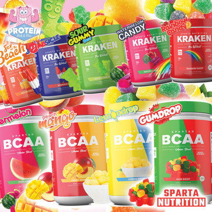 This is SPARTAAAAA! Kraken Pre-workout and Spartan BCAA have arrived!