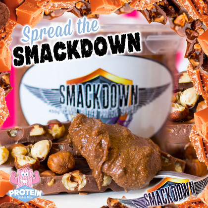 'Spoon (?!) the Smackdown' with Choc Salted Praline Peanut Butter from SMACKDOWN PB!