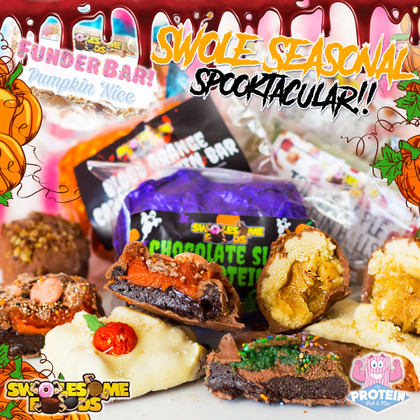 Spooktacular Swolesome Snacks Have Landed... grab some before they disappear!