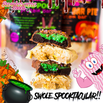 Hold onto your Broomsticks, folks!! It's time once again for a Halloween 'Swole(some) Spooktacular'!