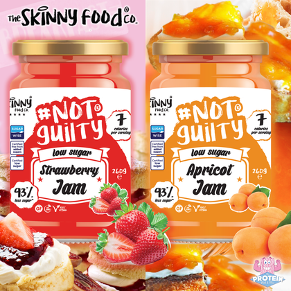 You jammy bas**rds!! Skinny Food Co Low Sugar Jams are here with all of the flavour, none of the sugar!