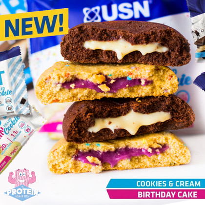 Filled Protein Cookies?! Yep, looks like we can TRUST the guys at USN to nail more than just bars!