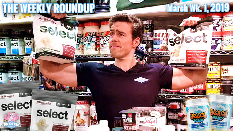 The Weekly Roundup / March Week 1, 2019 - Supps and (Pancake) Stacks!
