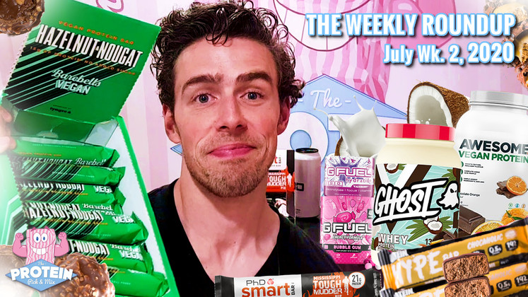 The Weekly Roundup / July Week 1, 2020 - Barebells Vegan Bars, GHOST Coconut Ice Cream, Oatein Vegan HYPE + more!