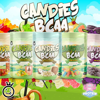 Candy + Cocktails = YUMMY!!  Yummy Sports' Candies BCAA's get a tasty new look!