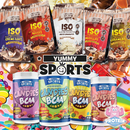 Supplements just got YUMMY! Canada's Yummy Sports do candy flavours like no other...