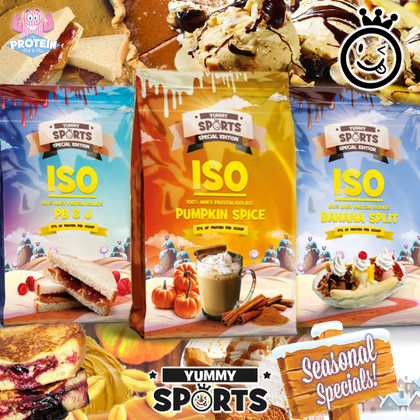YUMMY, Yummy Limited Edition (ISO Protein) Seasonal Specials are here!