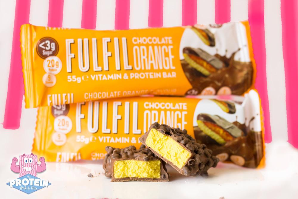 11e9ec4cf Fulfil Vitamin   Protein Bar - Chocolate Orange 55g- The Protein ...