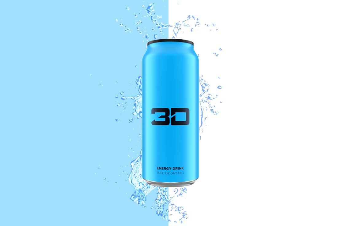 fef6688723f5 3D Energy Sugar Free Energy Drink - Blue - The Protein Pick and Mix UK