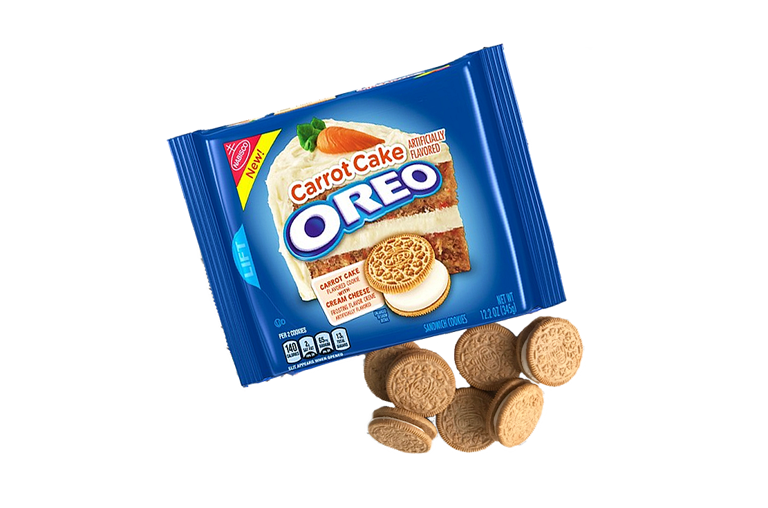 Oreo Carrot Cake Sandwich Cookies Usa 350g The Protein Pick