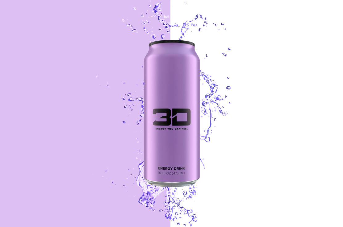 be2869d8f243 3D Energy Sugar Free Energy Drink - Purple - The Protein Pick and Mix UK