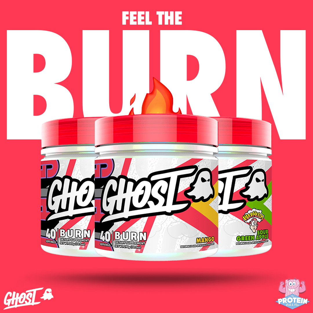 Who's ready to Feel the BURN with GHOST's fat-destroying