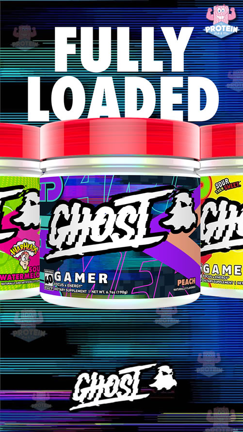 GHOST Lifestyle GAMER range at The Protein Pick and Mix UK