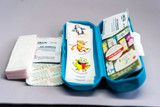 Medibuddy contents: we gave replaced the antibiotic ointment with a natural wound care ointment.