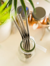 AkeAke Steel Straws - Single, a pair or sets!
