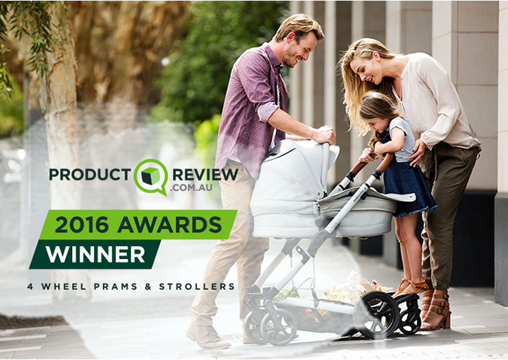 Redsbaby JIVE: Product Review Four-Wheel Pram of the Year